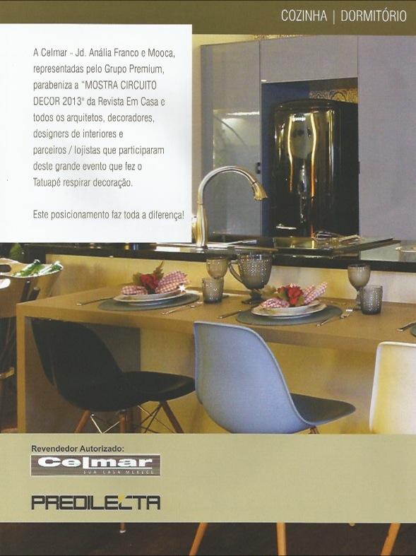 Propaganda Celmar - Revista Em Casa Set/13