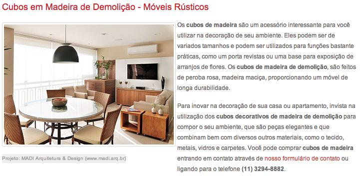 Site Madeira de Demolição  Outubro/2013