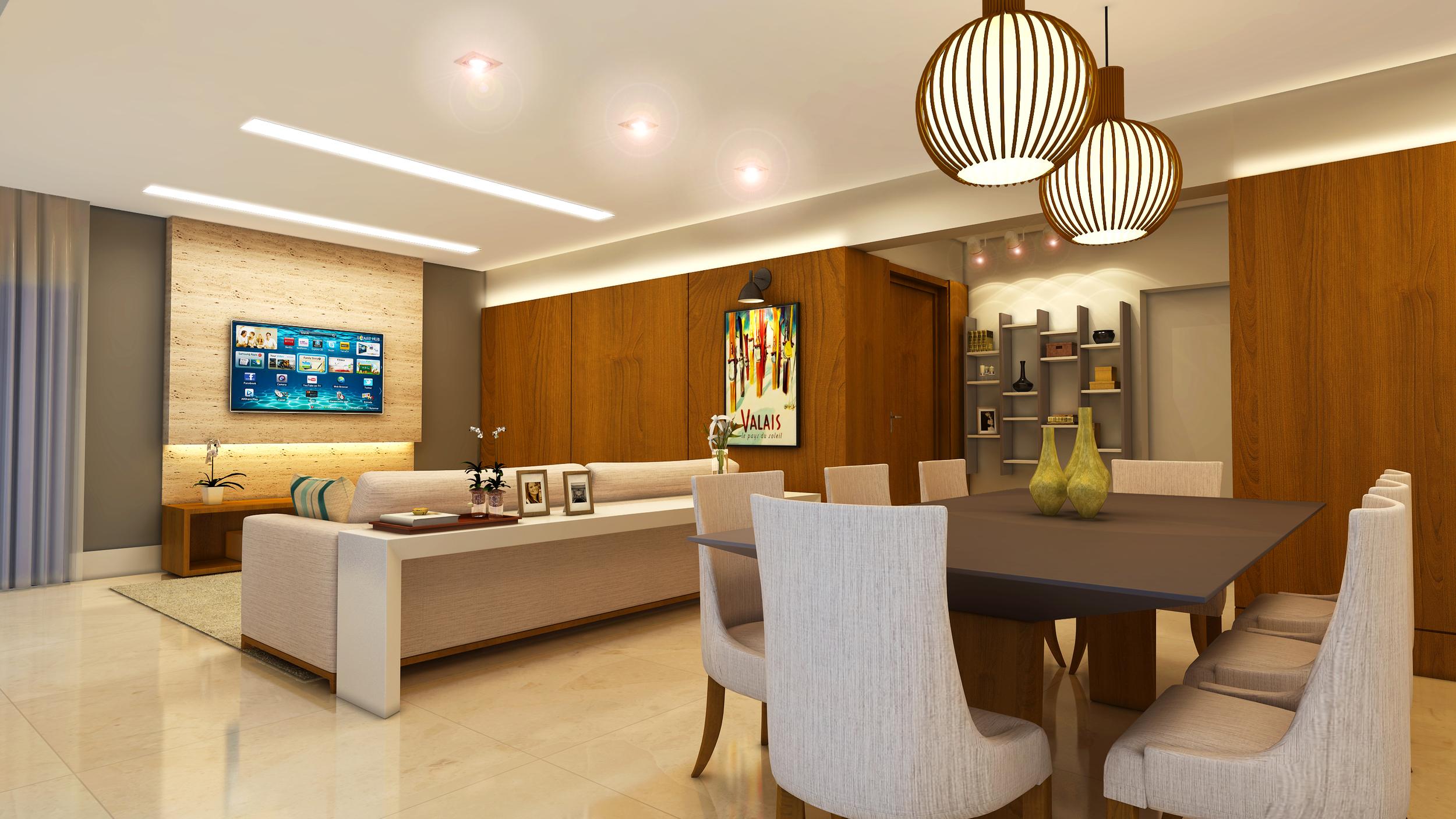 Living  Apartamento Pompéia - São Paulo / SP - 160 m2  Projeto: Madi Arquitetura & Design  Imagem: Érica Alfieri