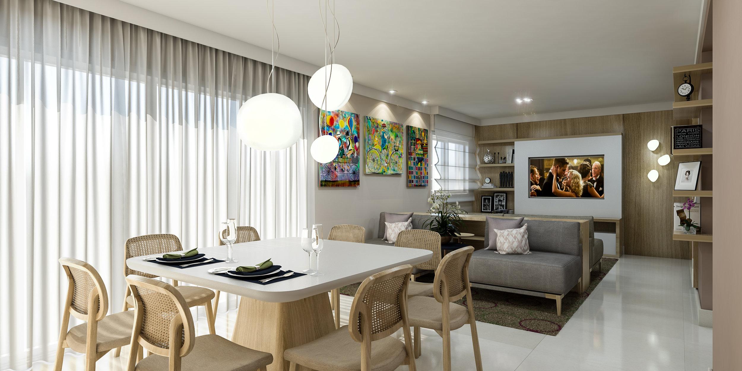 Living  Apto Aguapeí - Jardim Analia Franco - 160 m2  Projeto e Gerenciamento da Obra: Madi Arquitetura & Design  Imagem: Érica Alfieri