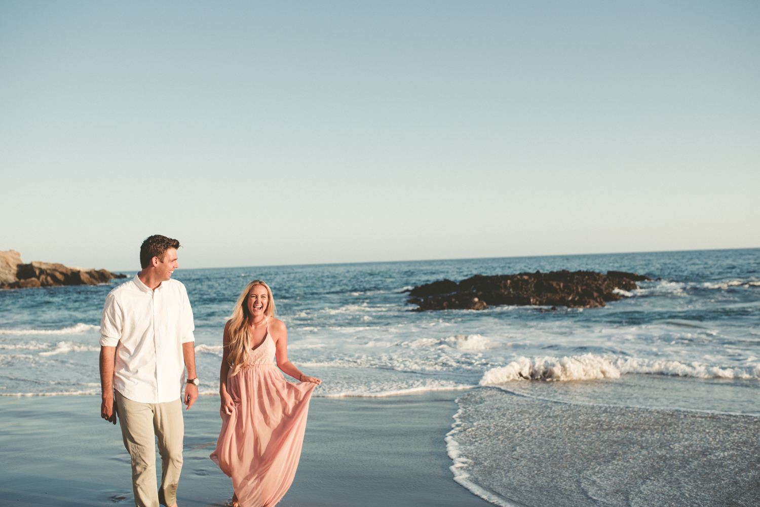 Laguna Beach Engagement Photos Woods Cove
