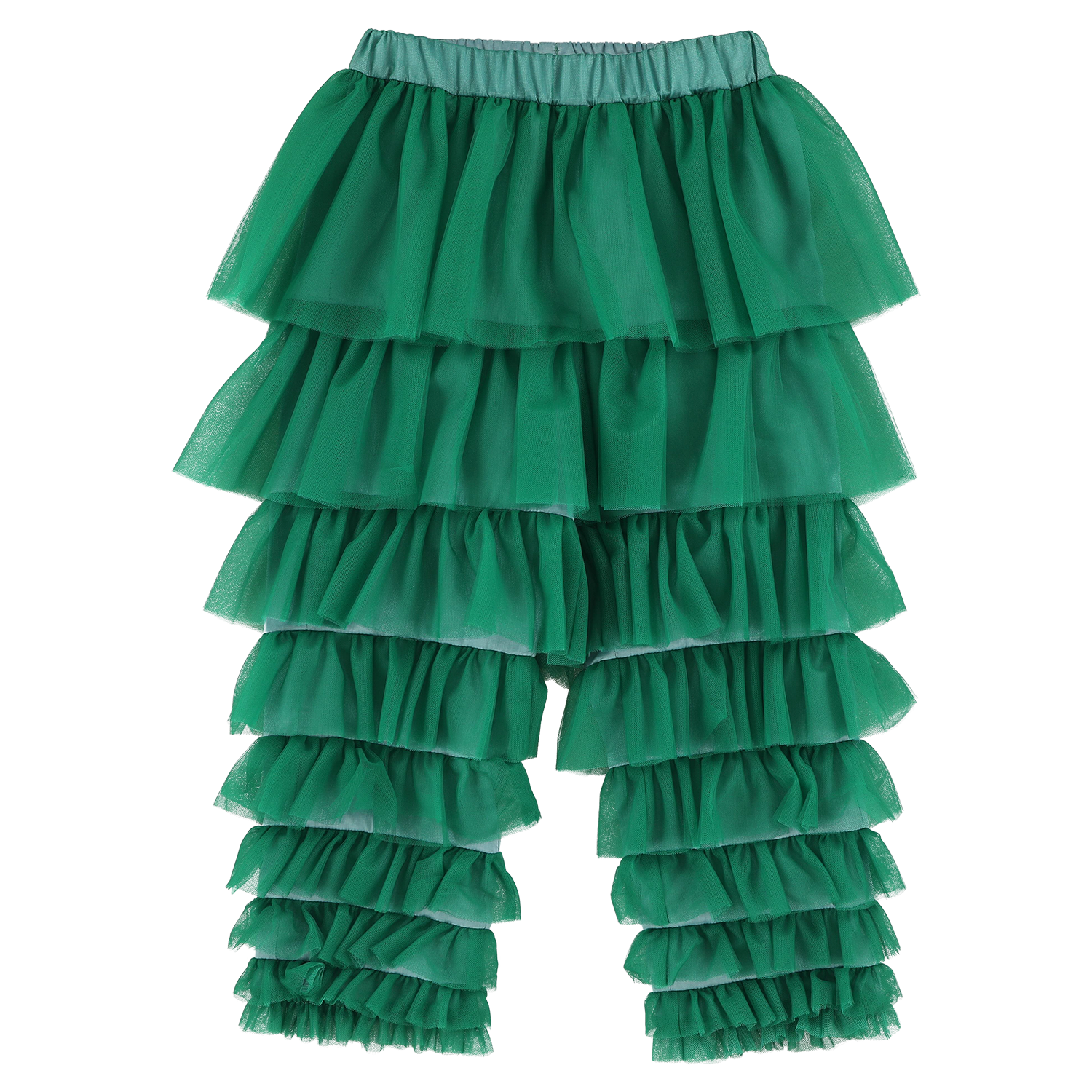 MODEL | 245 STYLE | 47 TULLE GREEN tulle pants
