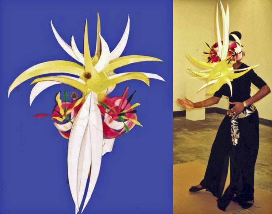 Dance Mask and Dancer  ATI Art Teacher Institute