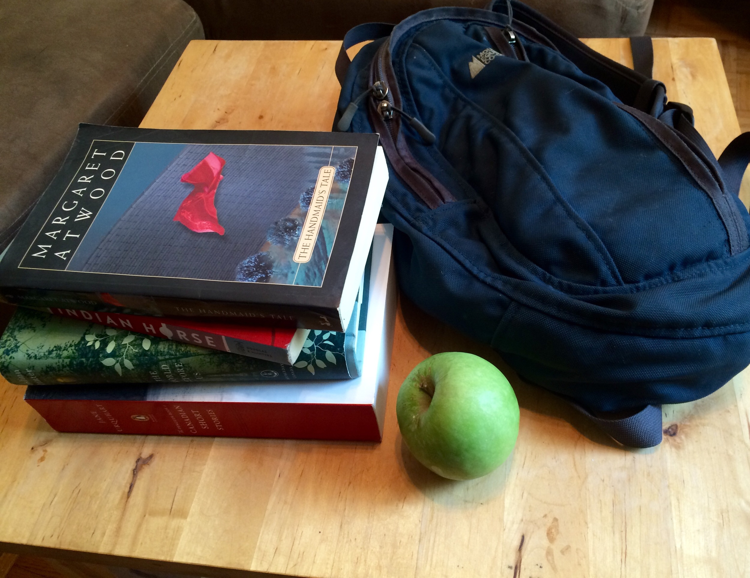 A back to school silver lining? At least there are still books.