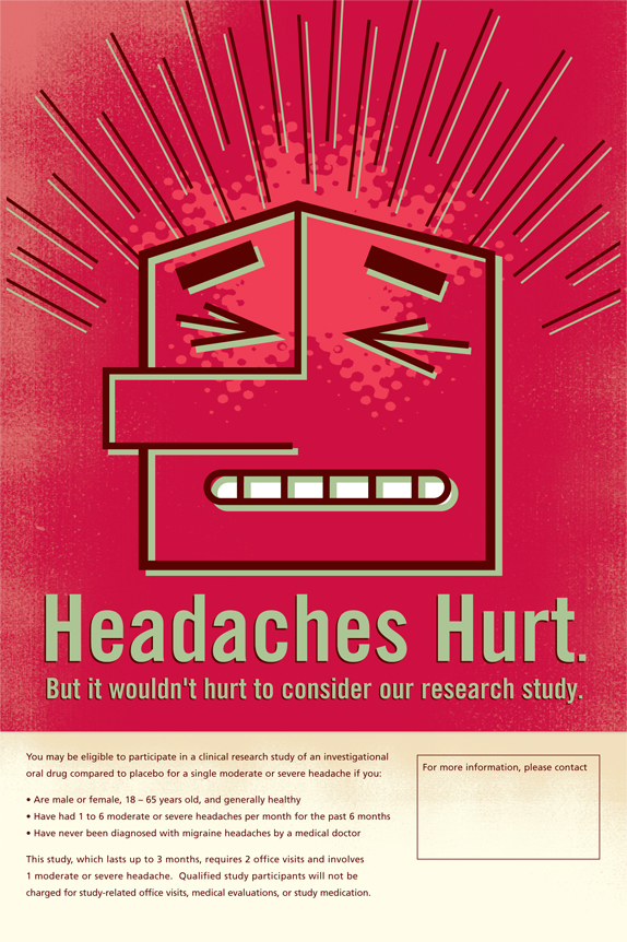 Headaches Hurt Poster Magnet Theory.jpg