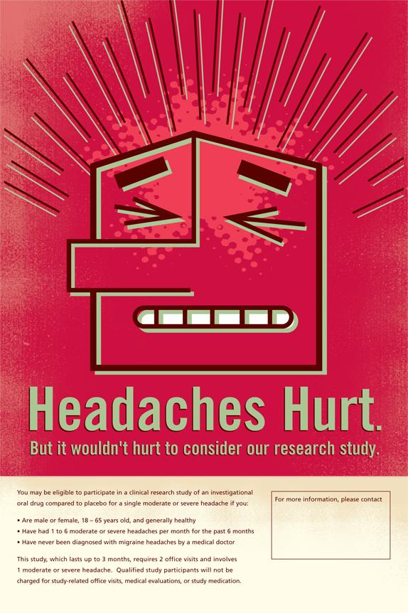 Headaches Hurt Poster Magnet Theory.jpg