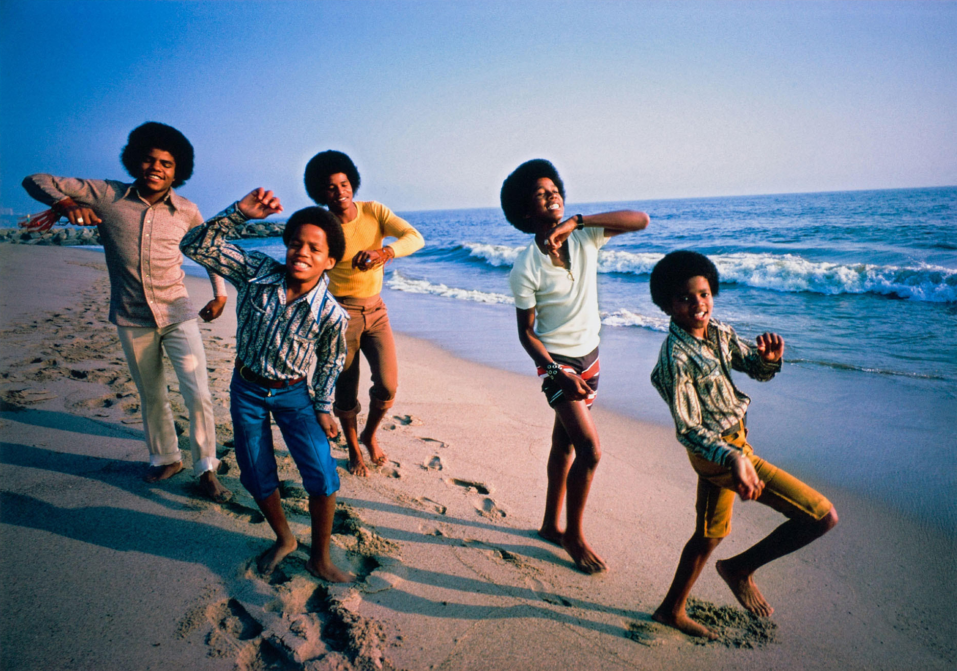 { The Jackson 5, Malibu  by Lawrence Schiller {1969} / Image via  The RealReal }