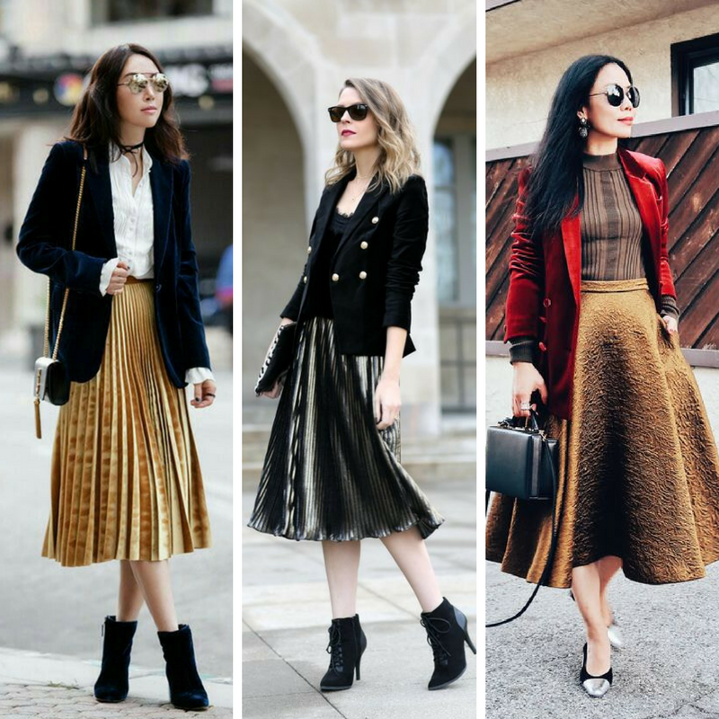 photo credits (left to right):  pinterest ,  penny pincher fashion ,  hallie daily