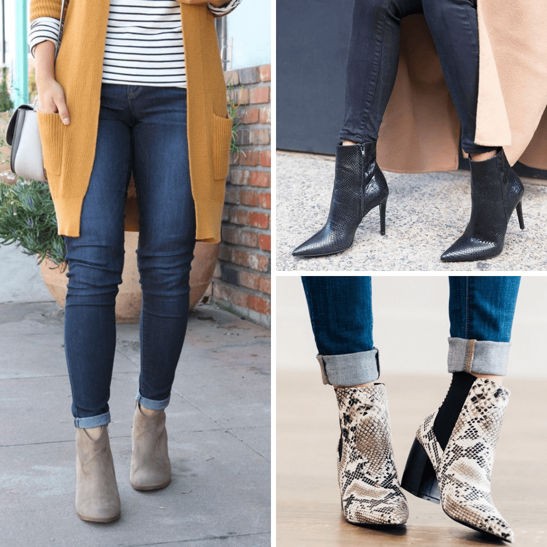 How To Wear Ankle Booties And Jeans Urbanite Suburbanite Personal Wardrobe Styling Fashion Blog