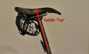 """Saddle """"Top"""""""