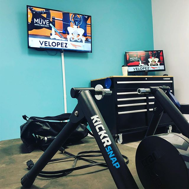 Our new Redmond Studio is finally ready! We are now providing fits in Redmond as well as Seattle!  Our first east side client is tomorrow morning =-) Shoutout to @buildperformancecenter who welcomed Velopez into their space.