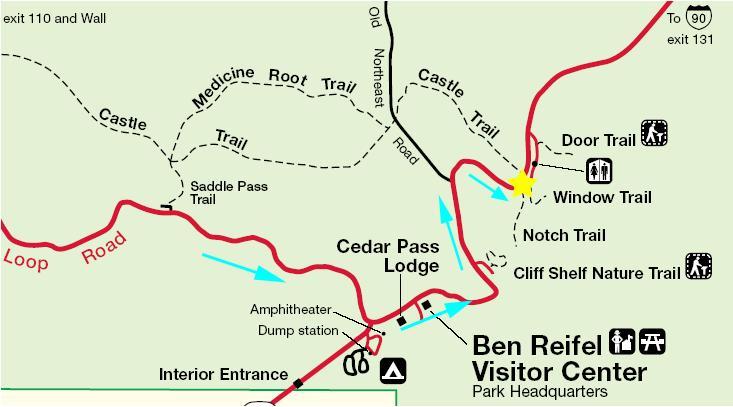 Notch Trail Map