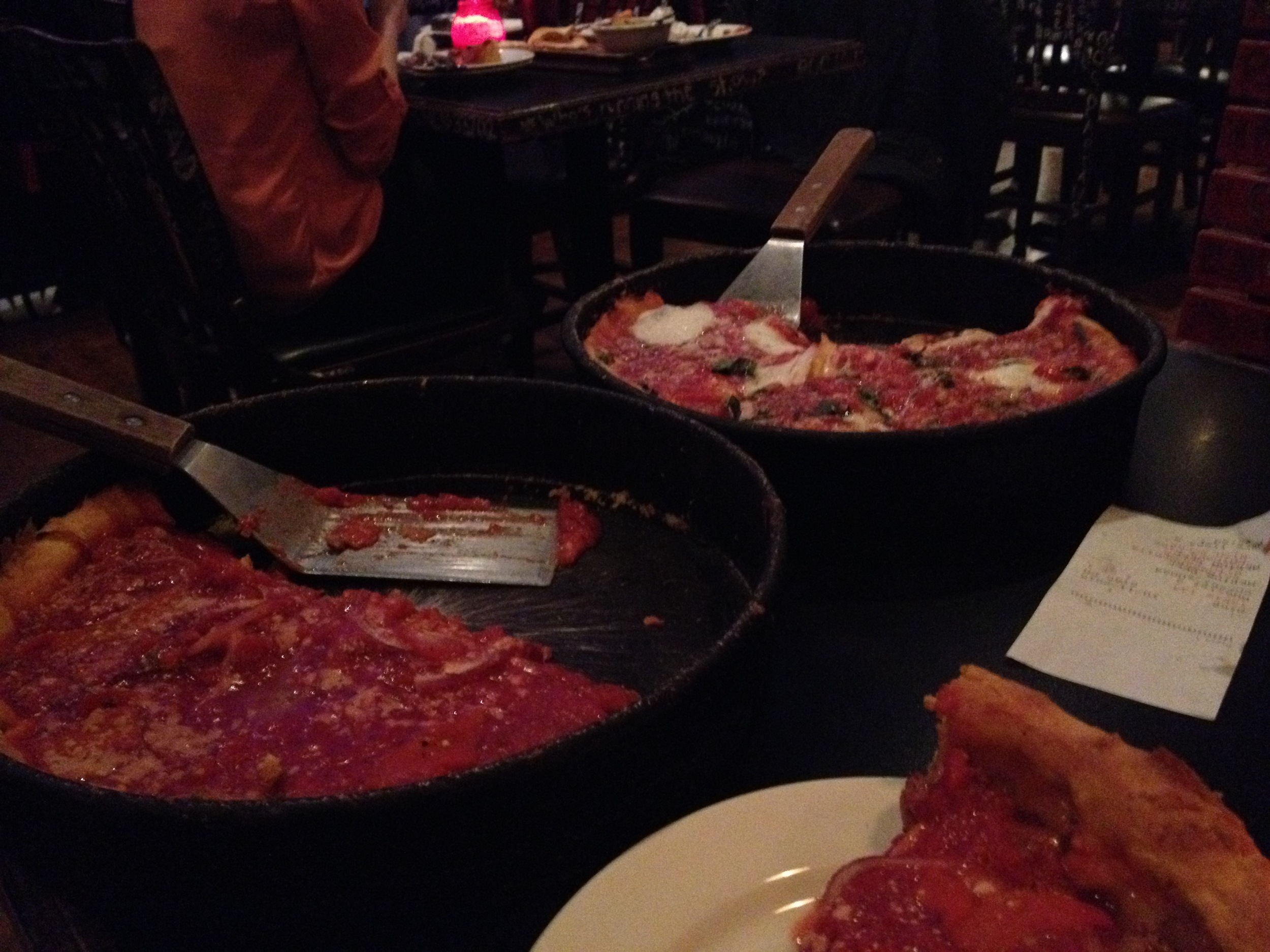 Deep Dish Stop (1 of 2) @ Gino's East