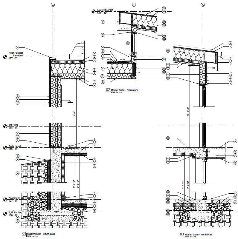 Typical Cross Wall Section
