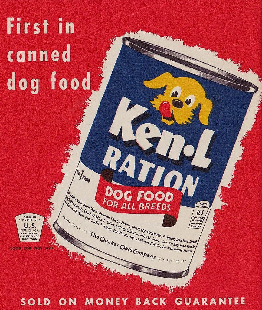 Ken-L Ration brand used canned horse meat in their products.