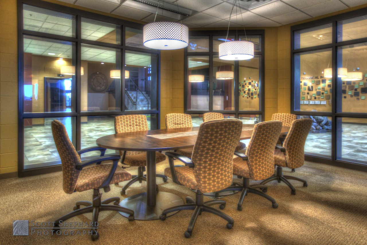 The Conference Room (7 layered photos composited in Photomatix, and HDR processing tool)