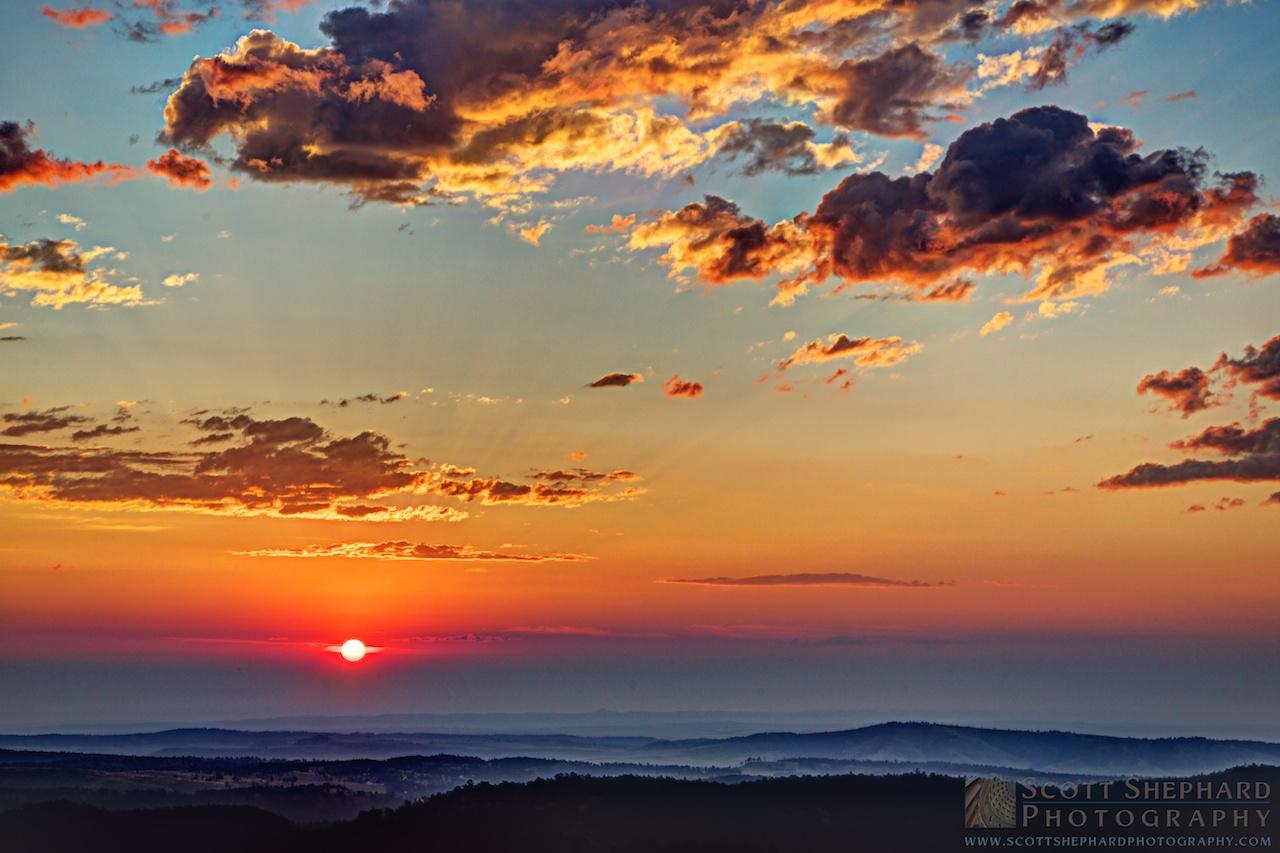 2014 08-19 8/19/14 6:08 AM MDT (HDR) by Watertown, South Dakota, photographer Scott Shephard