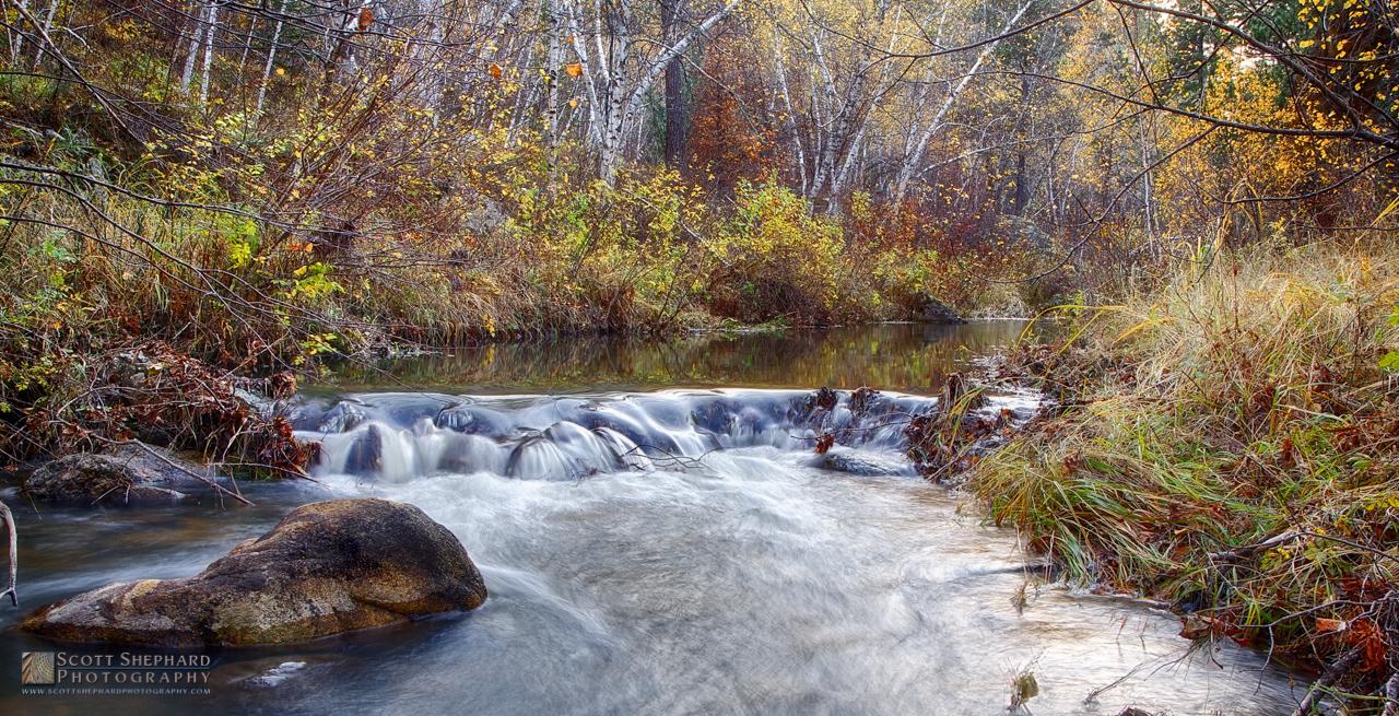 2014 10-09 Fall on Iron Creek (HDR) by Watertown, South Dakota,