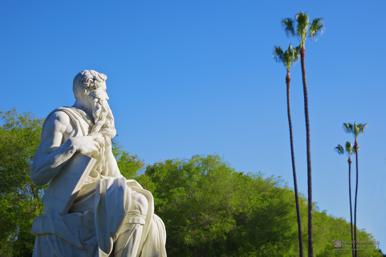 Moses Takes A Break