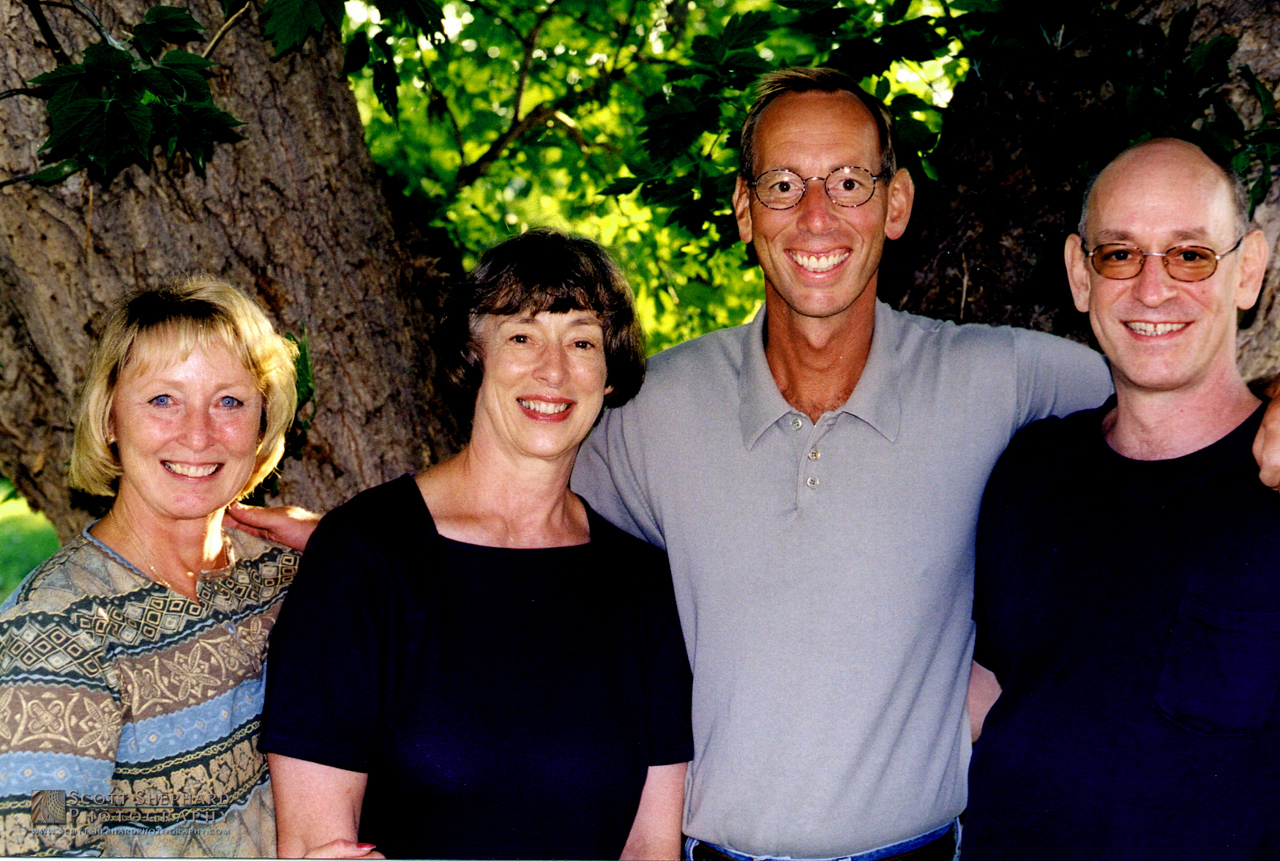 Betty, Barb, Scott and Mike