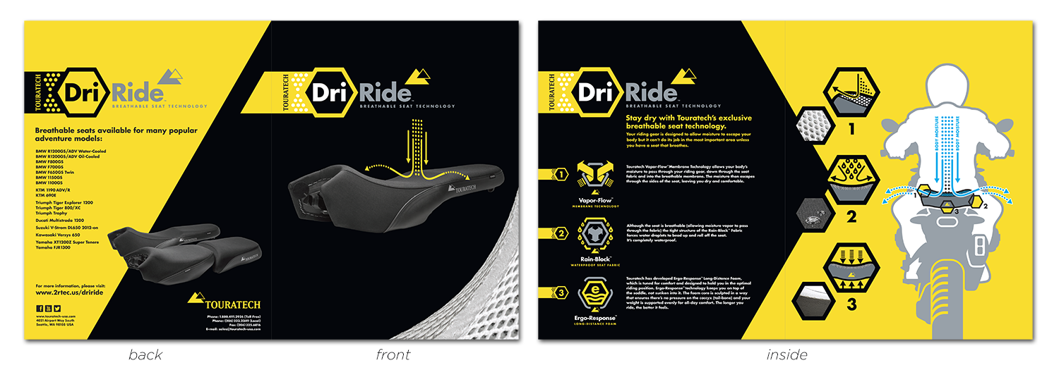 Graphic design by Paul Lycett, ADVBrands.