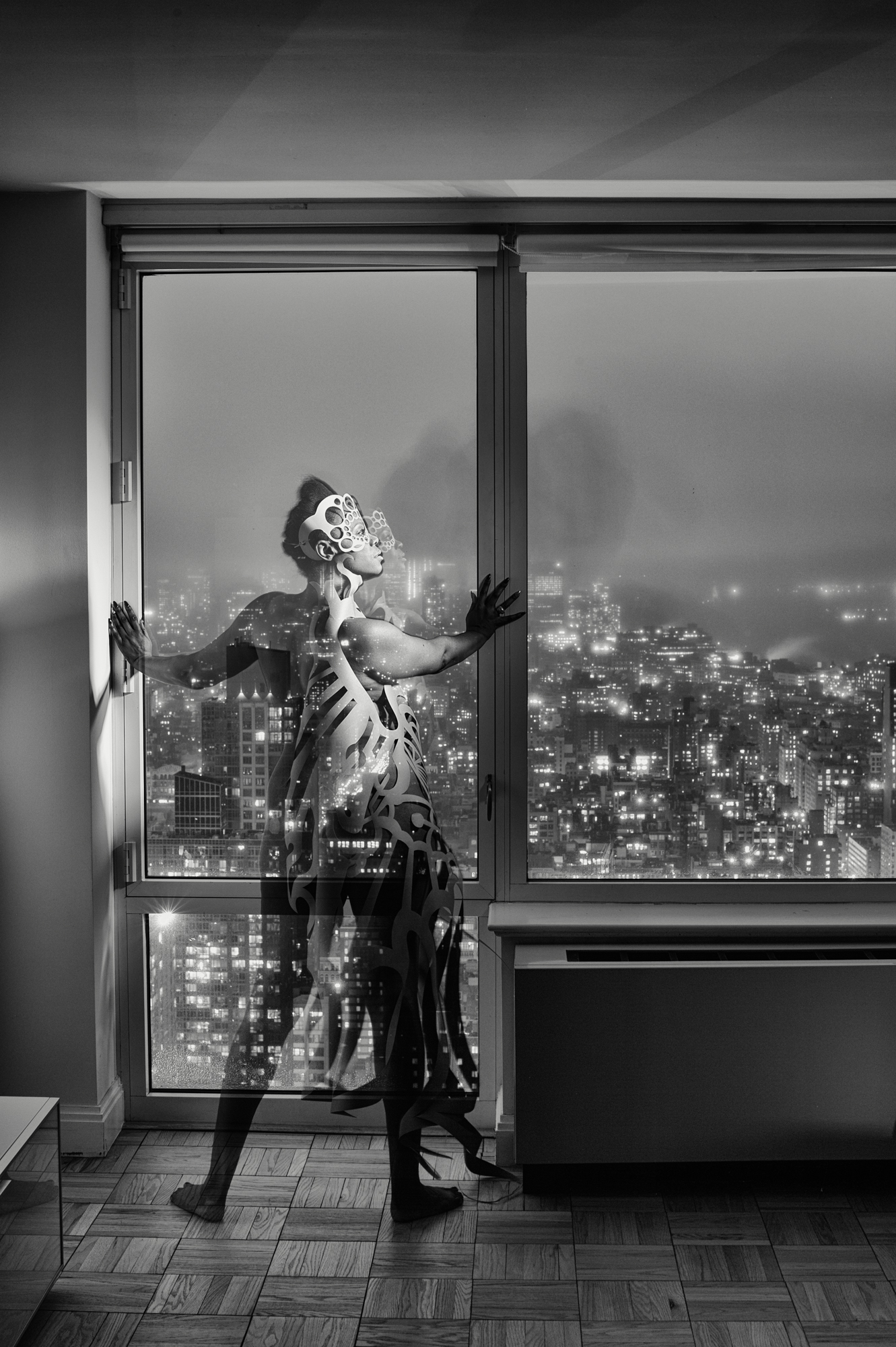 Falana Fox on the 56th Floor in Manhattan