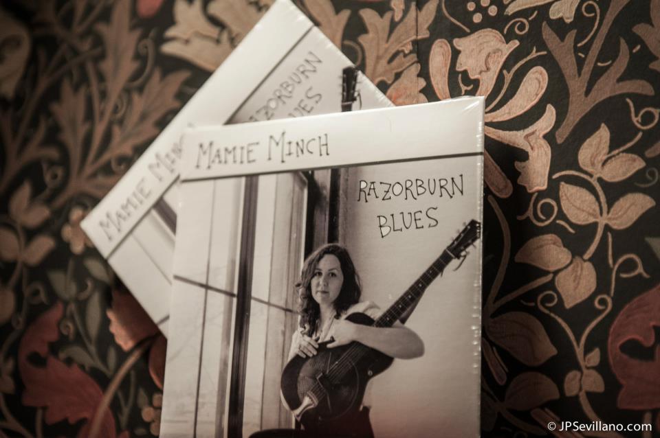 """Mamie's CD, """"Razorburn Blues"""" © JP Sevillano"""