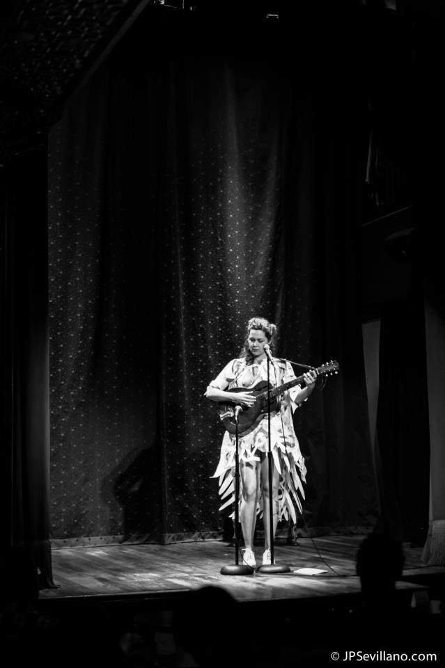 Mamie Minch Performing at the Slipper Room