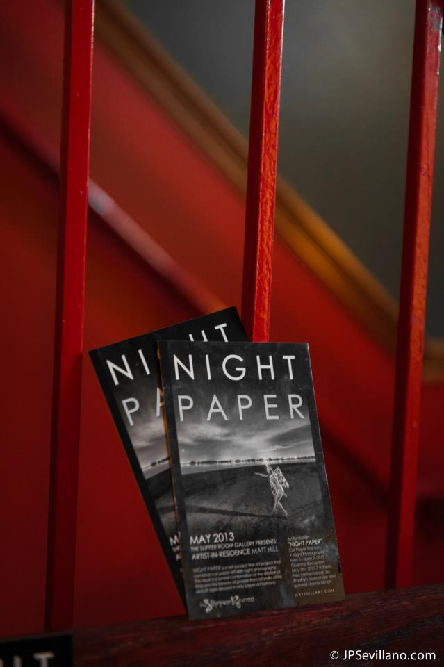 Some Event Postcards for NIGHT PAPER