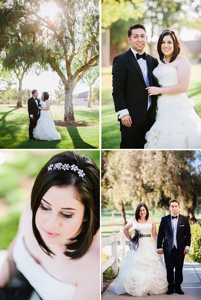 Hurless Barton Park wedding portraits