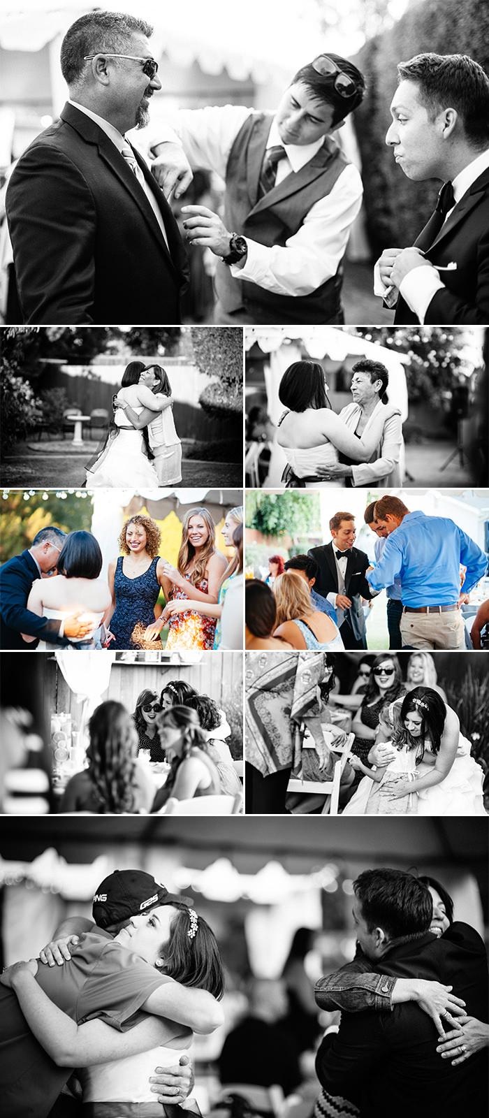 Yorba Linda backyard wedding