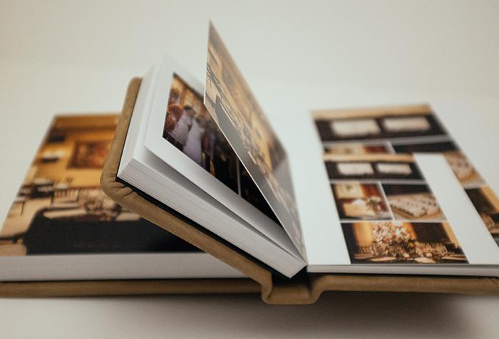 Annie Hall Photography album spread
