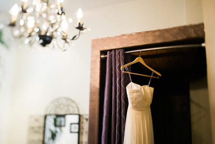 Chateau Belle salon bride getting ready