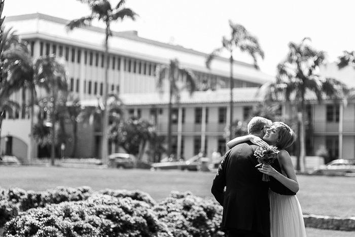 Santa Barbara Courthouse Sunken Gardens wedding