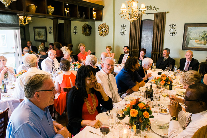 Olio E Limone Ristorante wedding reception dinner
