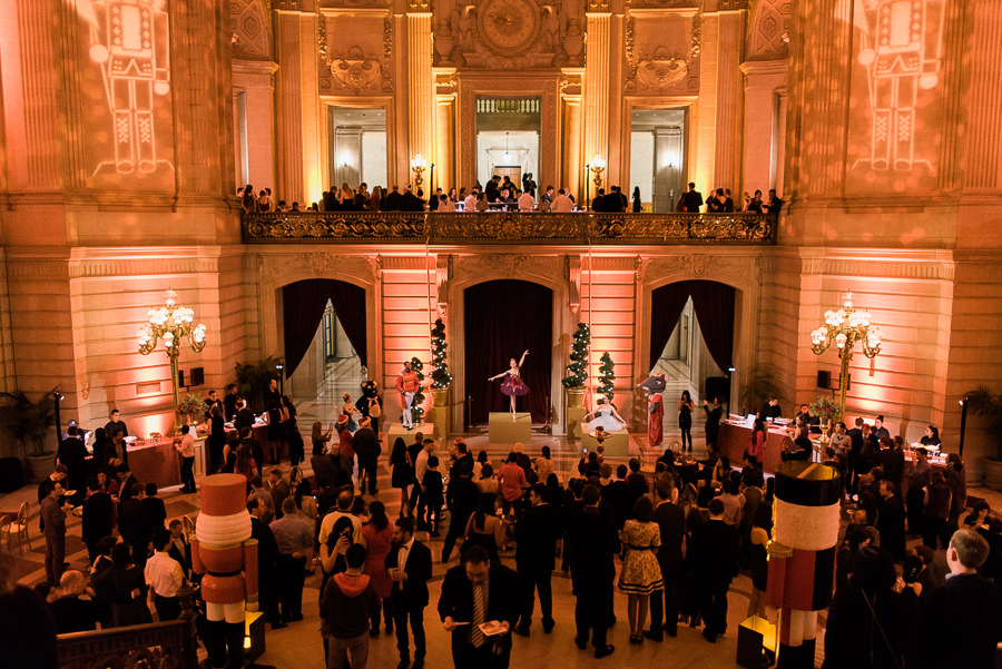 Google Chrome Holiday party in San Francisco city hall Event photography by Annie Hall 004.jpg