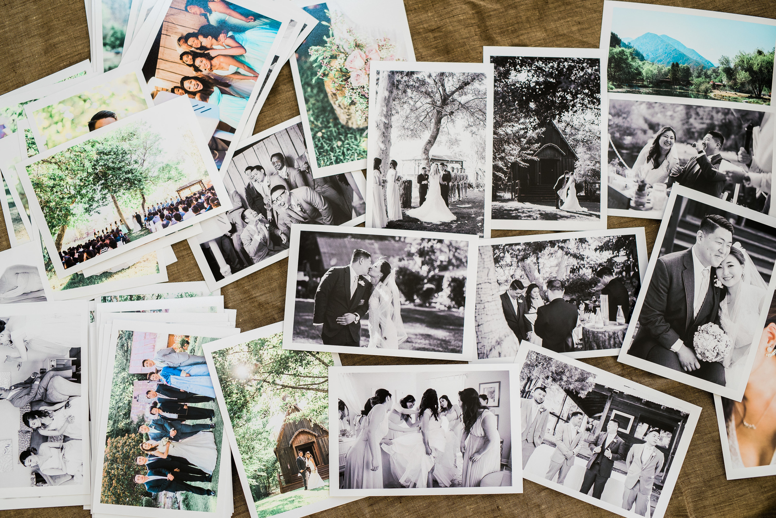 There's nothing quite like seeing your wedding images as tangible prints.