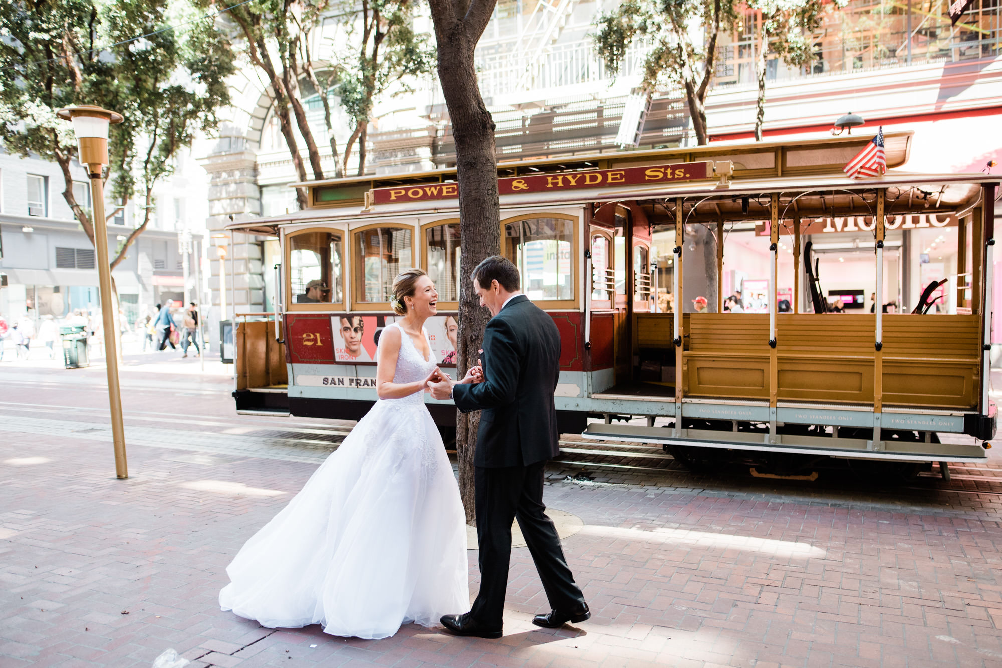 Foreign Cinema Wedding Union Square Cable Cars -012.jpg