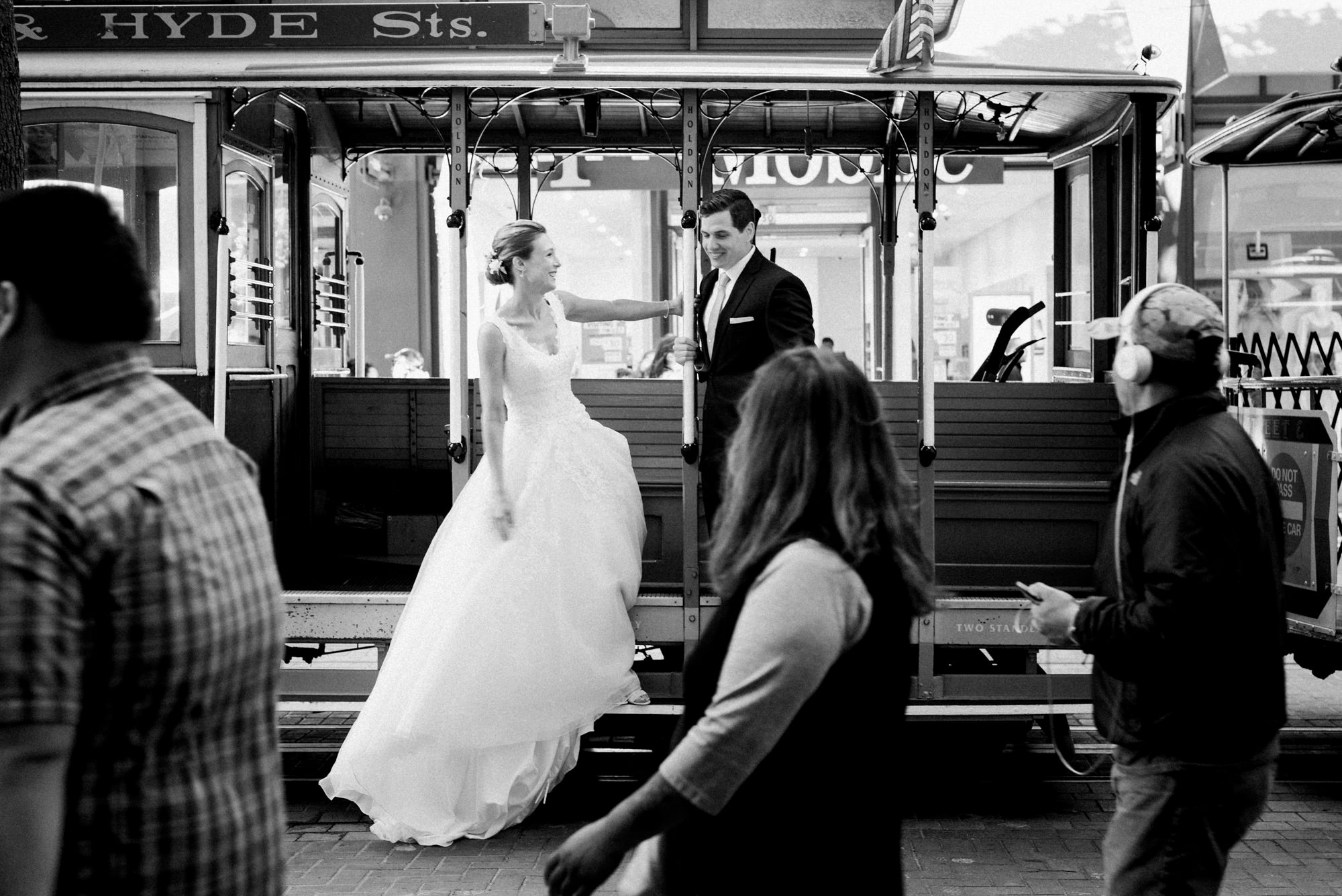 Foreign Cinema Wedding Union Square Cable Cars -014.jpg