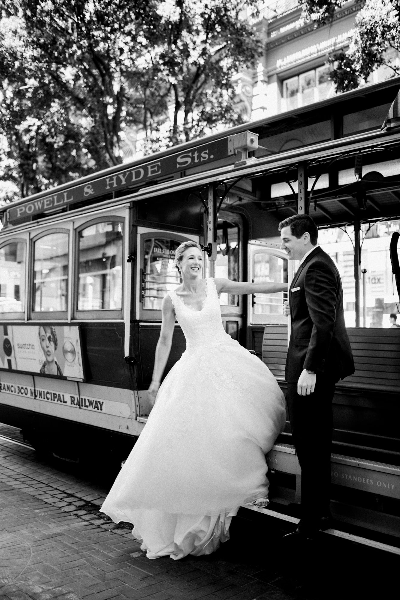 Foreign Cinema Wedding Union Square Cable Cars -013.jpg