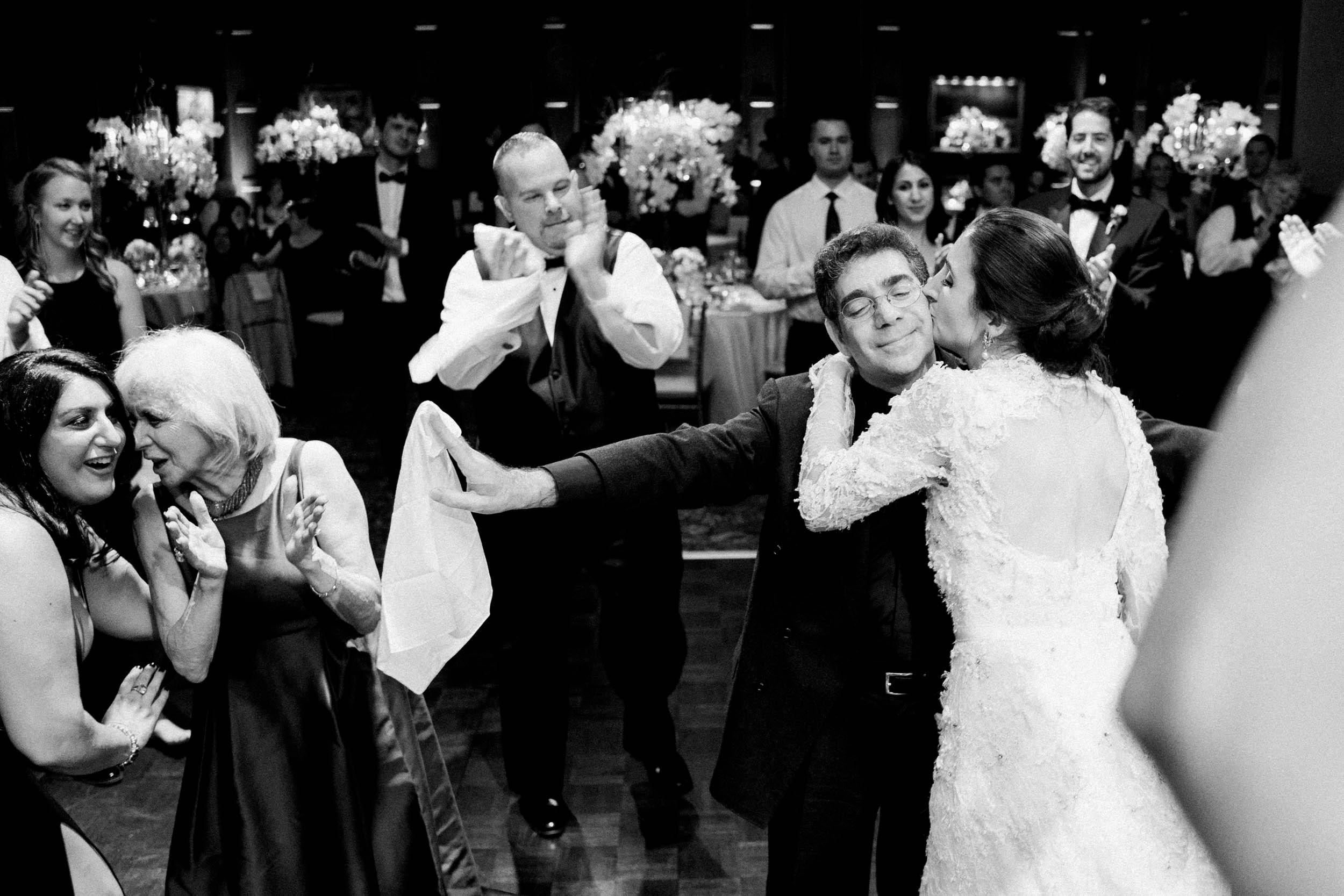 Wedding Reception Dancing at Bohemian Club in San Francisco