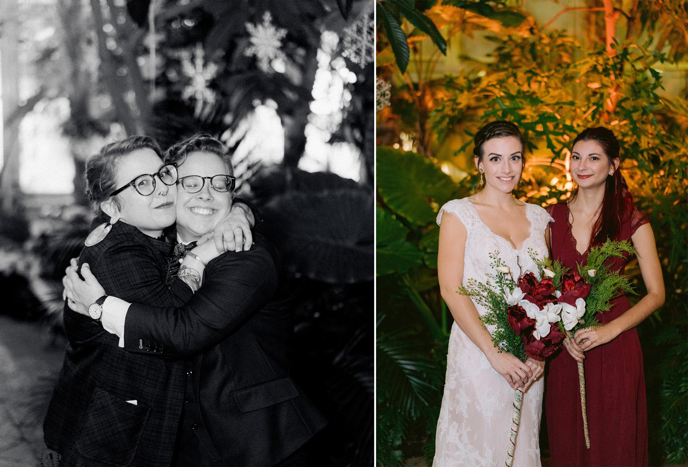 Same Sex Buffalo Botanical Garden Wedding 045.jpg