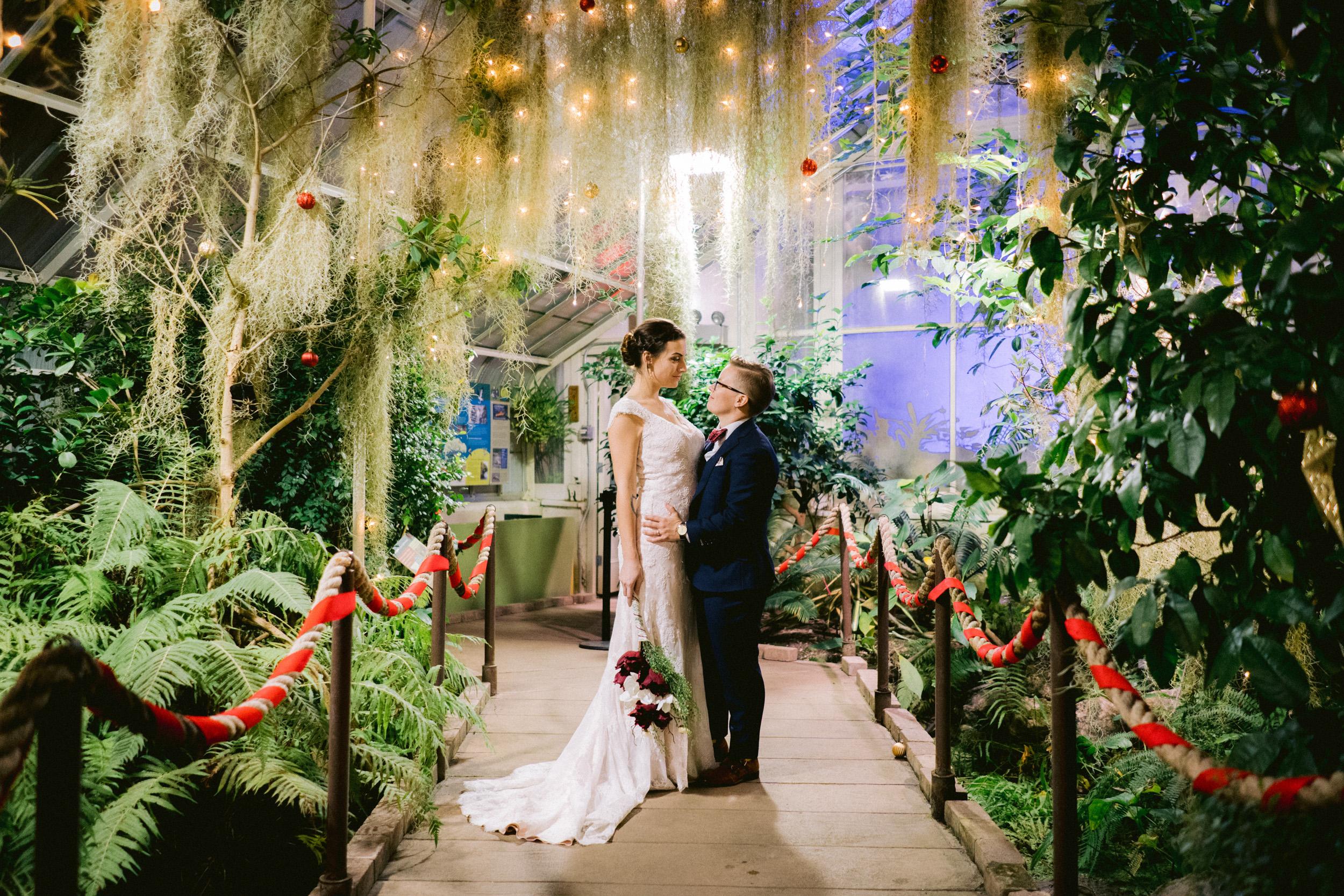 Same Sex Buffalo Botanical Garden Wedding 053.jpg