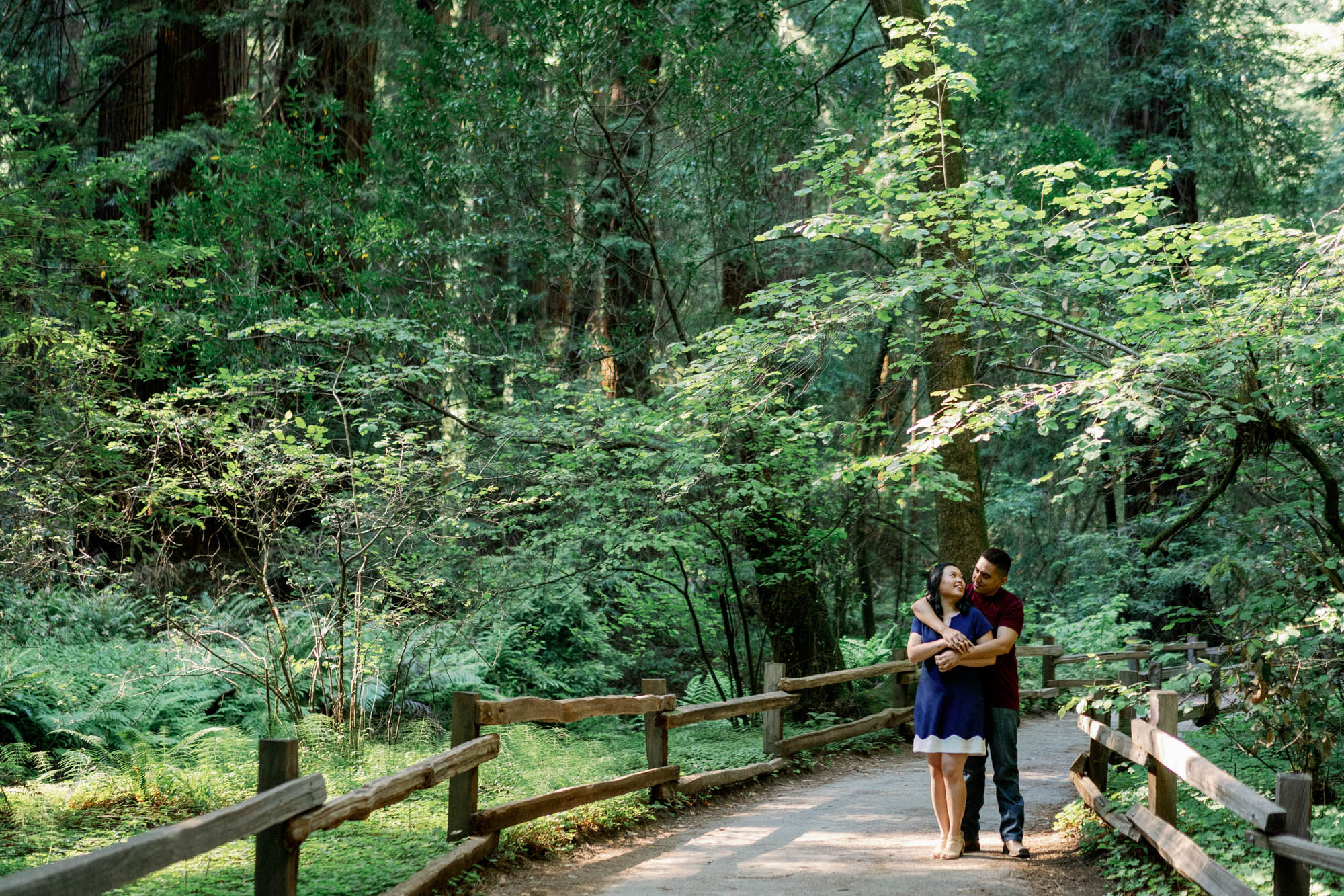 Muir Woods Beach Engagement Session 1.jpg