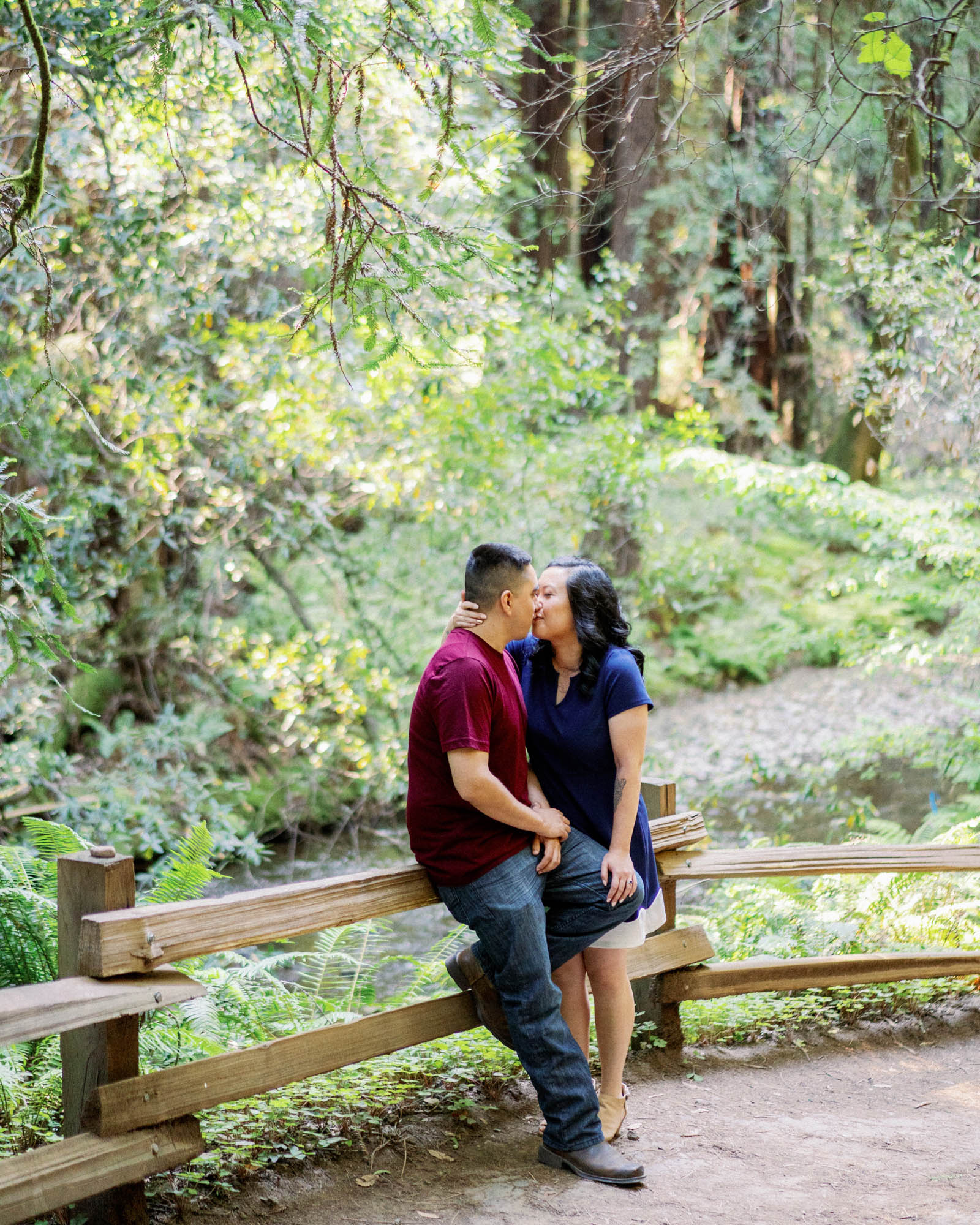 Muir Woods Beach Engagement Session 4.jpg