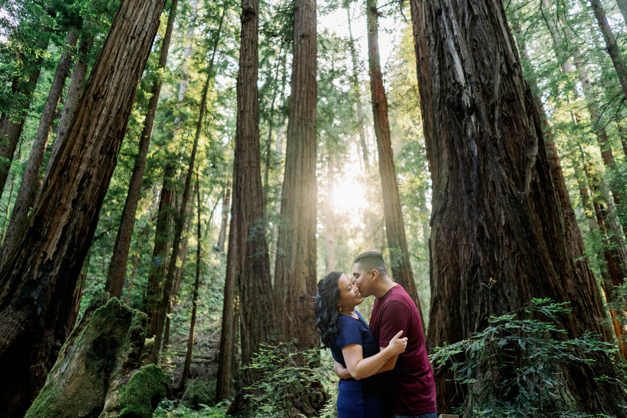Muir Woods Beach Engagement Session 7.jpg