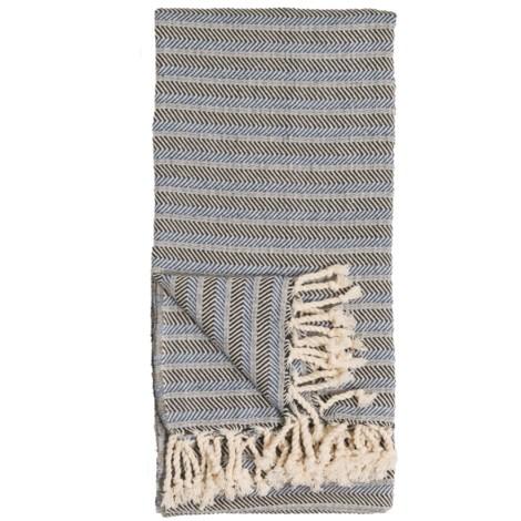 Body Towel - Turquoise Coast - Navy - $40