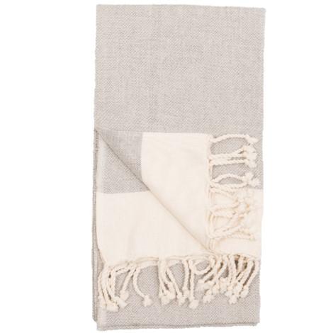 Body Towel - Anatolia - Gull - $40