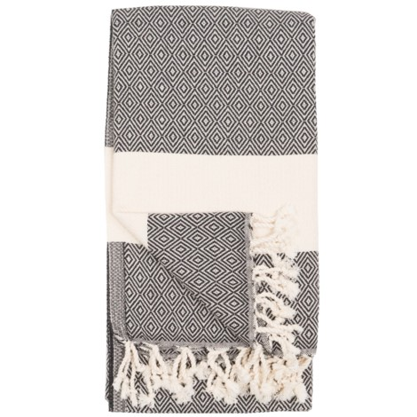 Body Towel - Diamond - Carbon - $40
