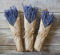 Lavender Bunches - $20